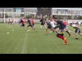 Футбольная тренировка КЛФ Леон на новом поле (03/07/18, ул. 3-я песчаная)