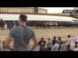 «Спасская башня»: выступление Кавалерийского почётного эскорта Президентского полка