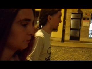 Sweden Family 9/10 sixth check video from Czech: Drunk walking in Olomouc (Part 3)