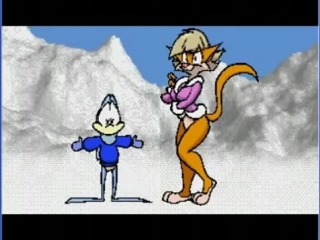 Flip The Frog And Clarisse The Cat In Snowbound