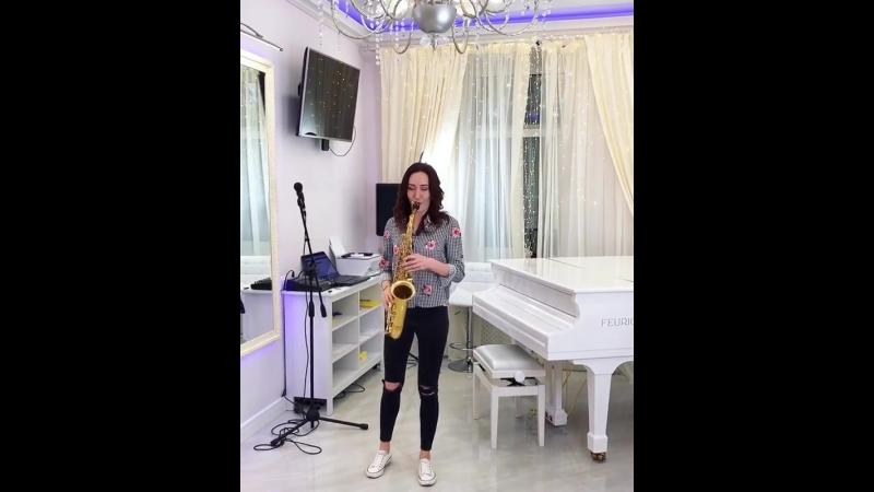 Новое направление в студии вокала Марии Тарановой - игра на саксофоне 🎷🎶❤