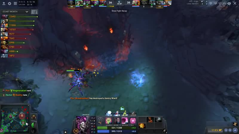 Dendi Rubick Stealing Machine with Arcana, One EPIC Game = a Lot of Ultimates St