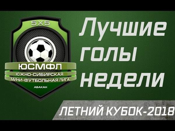 Летний кубок ЮСМФЛ 5Х5 2018 Лучшие голы недели 19 07 2018 г