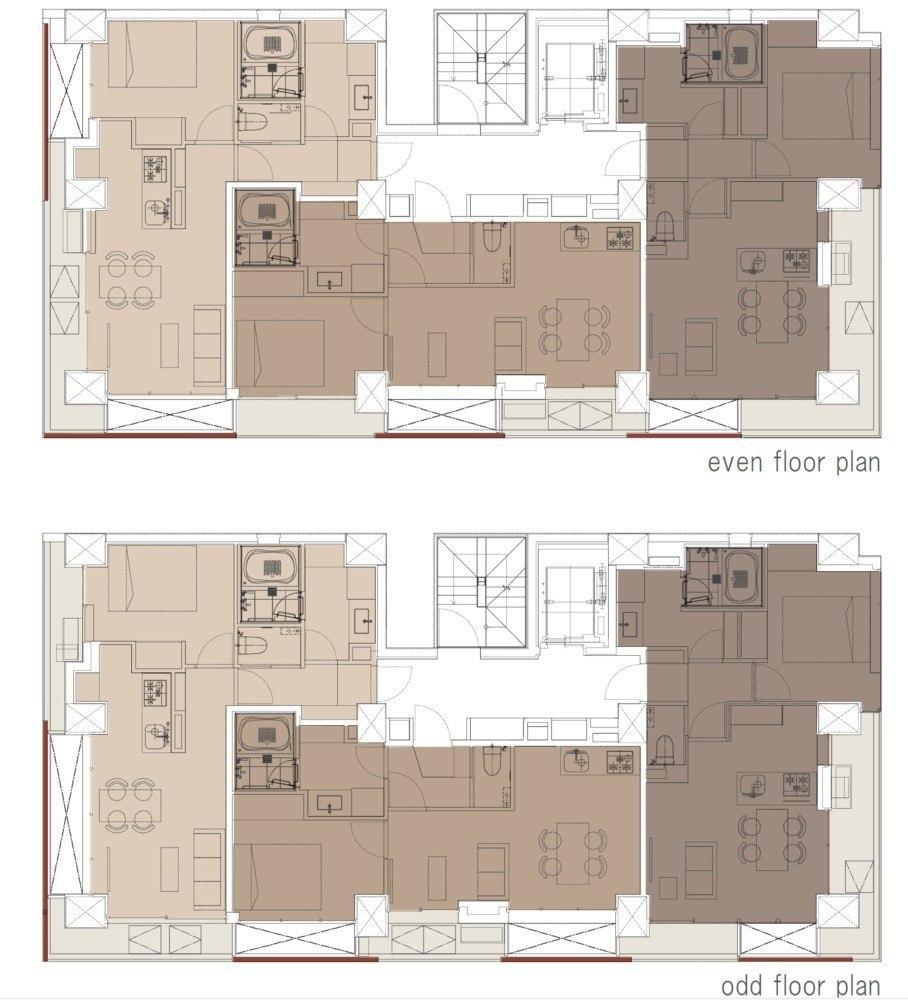 Akasaka Brick Residence / KINO architects