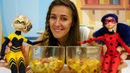 La Frittata para la Reina Abeja y LadyBug. Cocina para niños.
