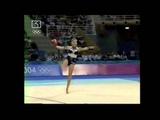 Routine Rewind - Simona Peycheva Ball 2004 Olympics