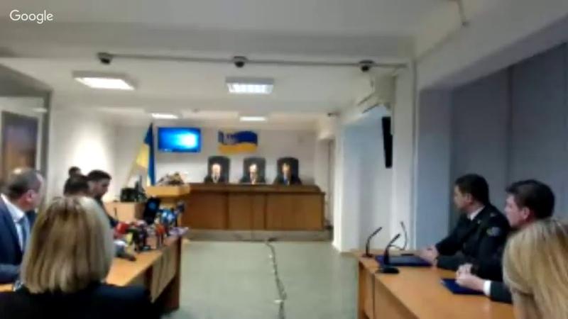 Судове засідання у справі за обвинуваченням В.Януковича у державній зраді