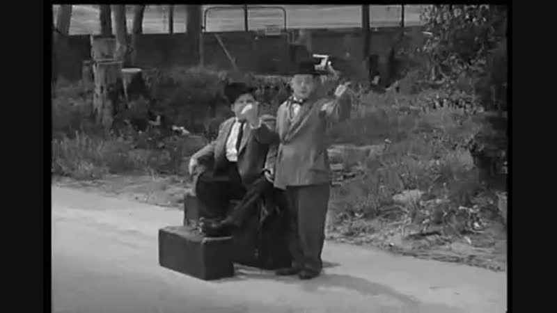 Laurel and Hardy - On The Wrong Trek - 1936