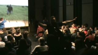 Группа Ватные Палочки в лице Дядюшки Вилли и Театр ТРУ на новой сцене Александринки.