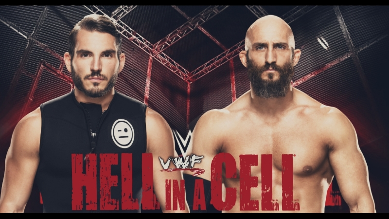 VWF Promo match on PPV Hell in a Cell - Johnny Gargano vs. Tommaso Ciampa [Last Man Standing Match]
