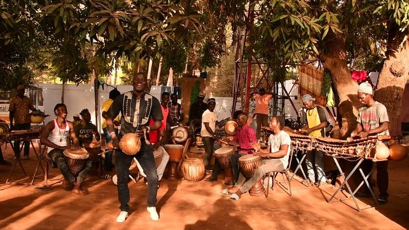 Bwazan at Maison des Jeunes, Bamako, Mali, Feb 2018 2