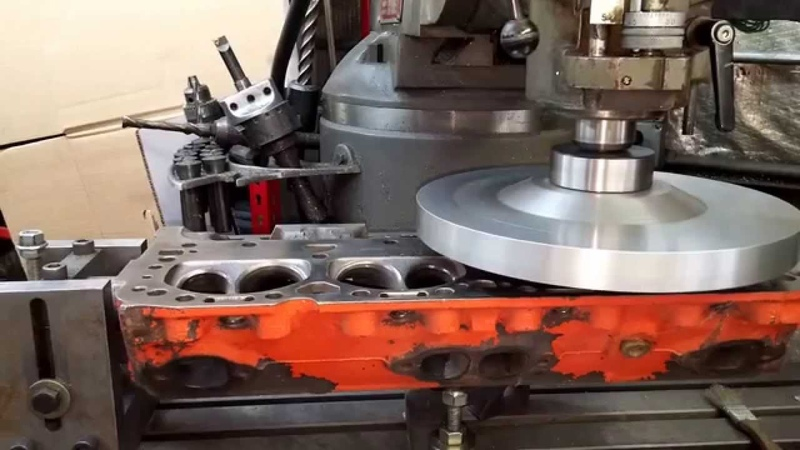 Milling an Iron Head