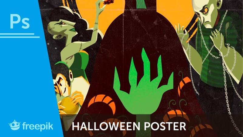 How to create a Halloween poster in Adobe Photoshop Sarita Kolhatkar Freepik
