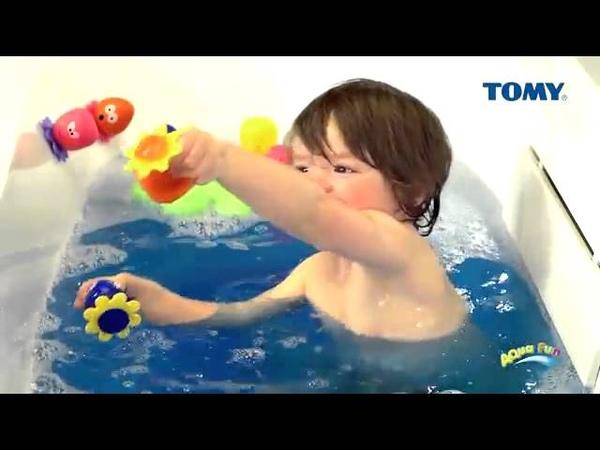 Tomy Octopals Bath Toy/Осьминожки