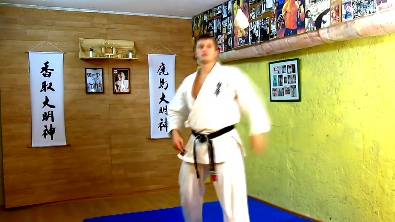 Карате КекушинкайМаваши с вертушкой секретный удар ниндзя торнадо кик _⁄киокушинкай каратэ kyokushin karate таэквондо