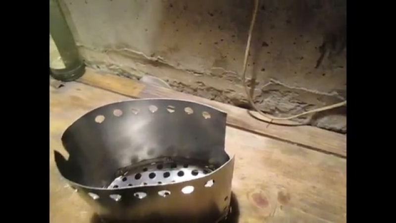 Печка-щепочница своими руками