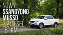 SsangYong Musso Mercedes klasy X ma mocnego konkurenta test PL