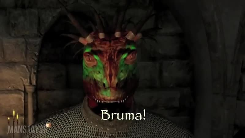 Bruma. And where the men are women is.