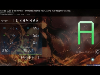 #1 [141pp] Osu! ^Immortal Flame (feat. Anna Yvette) [Mir's Extra]
