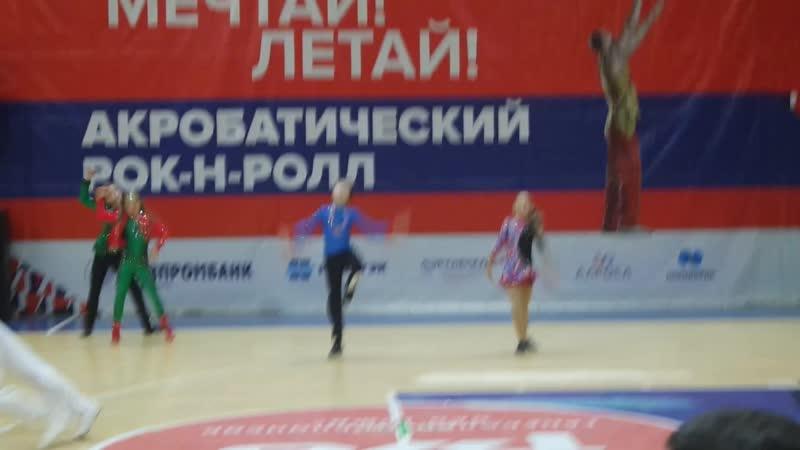 Курушин Артем - Опаренко Полина В-класс микст Юноши и девушки отборочный тур