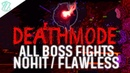 Terraria Calamity DEATHMODE All Boss Fights NOHIT FLAWLESS Calamity 1 2 4 205 No damage taken