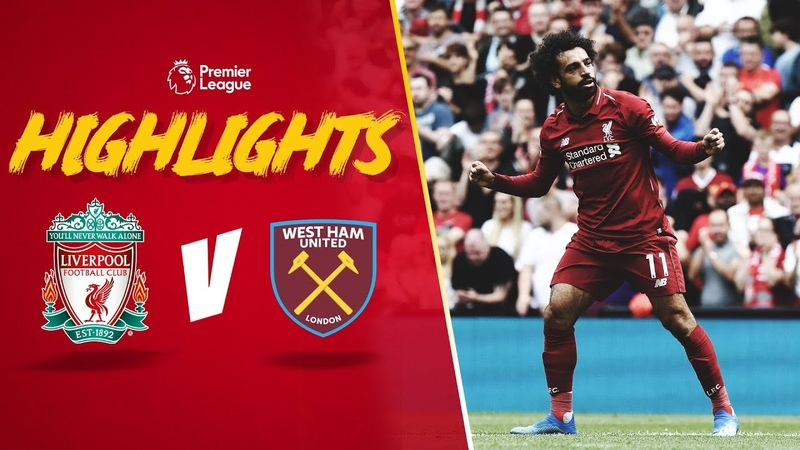 Highlights Liverpool 4-0 West Ham United   Mane at the double