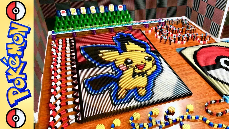 Pichu Pokemon of the Month (IN 17,516 DOMINOES!)