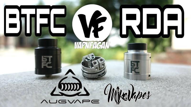 BTFC RDA By Augvape VapnFagan Build Wick Mike Vapes