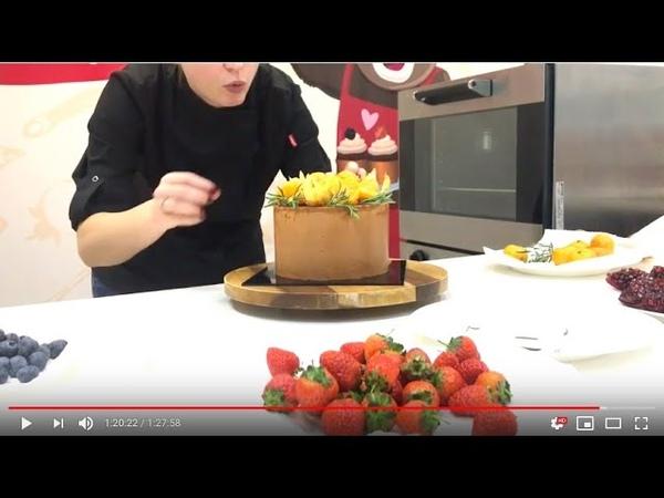 Ультра Шоколадный Торт от Одри за 73 минуты - рецепт внизу под видео - НАЖМИ на стрелочку вниз