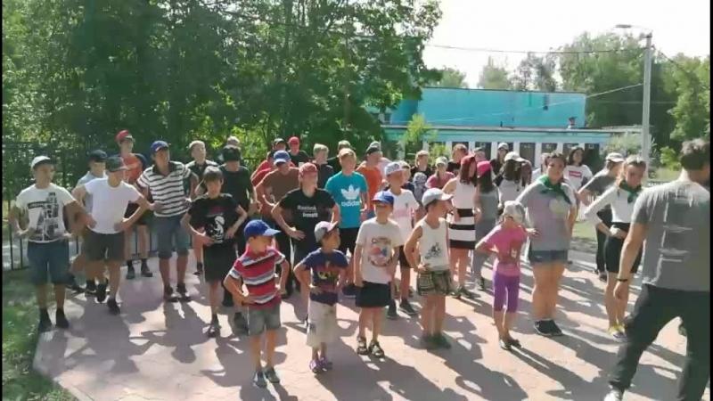 Всероссийский проект «Маяки дружбы. Россия сближает». Мастер-класс по танцам