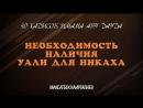 40 хадисов Имама Абу Дауда / Необходимость наличия уали для никаха / Максатбек Каиргалиев
