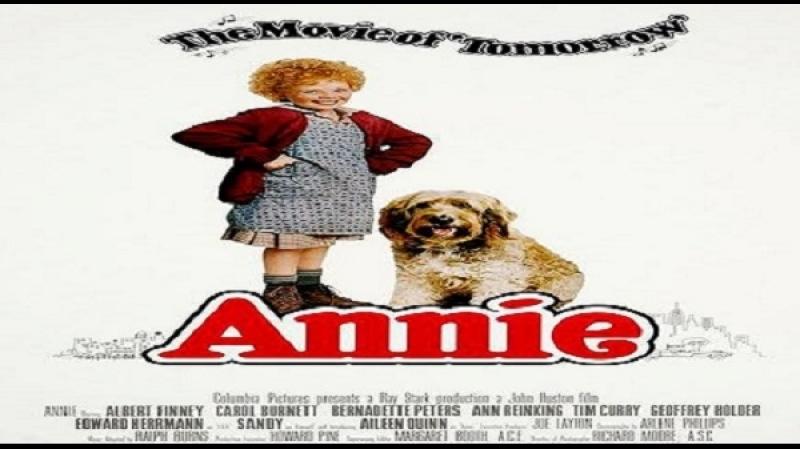 1982 John Huston Annie Aileen Quinn Albert Finney Carol Burnett Bernadette Peters Ann Reinking Tim Curry