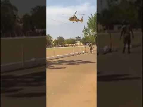 Crash d'un hélicoptère de l'armée malienne