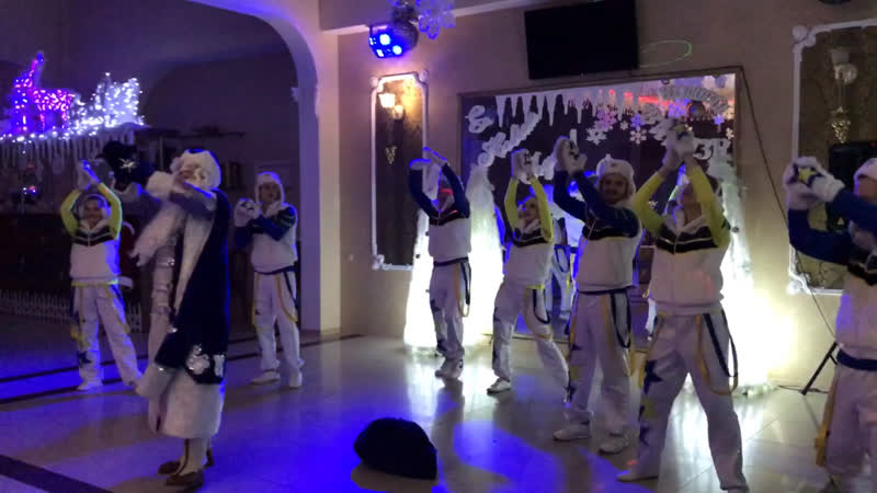 "Новогодняя ночь 2019 ресторан «Витязь» шоу «M-PARTY """