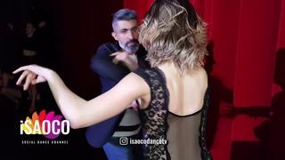 (Mobile Camera) Omran Jaffar and Aleksandra Shatalova Salsa Dancing at SFS 2018, Friday 23.02.2018