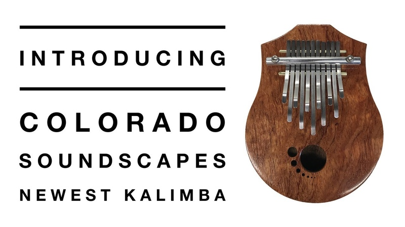 New (2018) kalimba model from Colorado Soundscapes