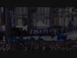 Инсейн шоу на празднование победы хоккейной команды СКА.Дворцовая площадь!