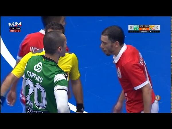 Liga SportZone | Final | Jogo 3 | Sporting CP 6-9 SL Benfica (após prolongamento) | Full Match