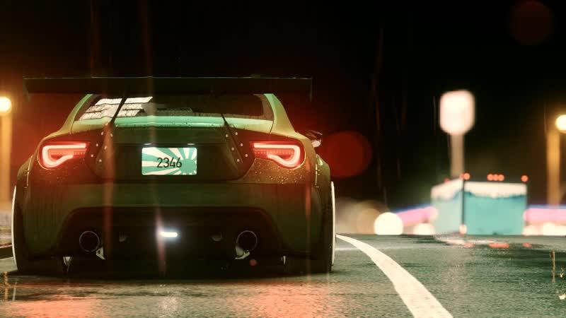 Toyota GT86 (Need For Speed 2015) Audio Rain