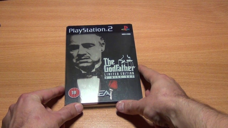 The Godfather Limited Edition PS2 PAL