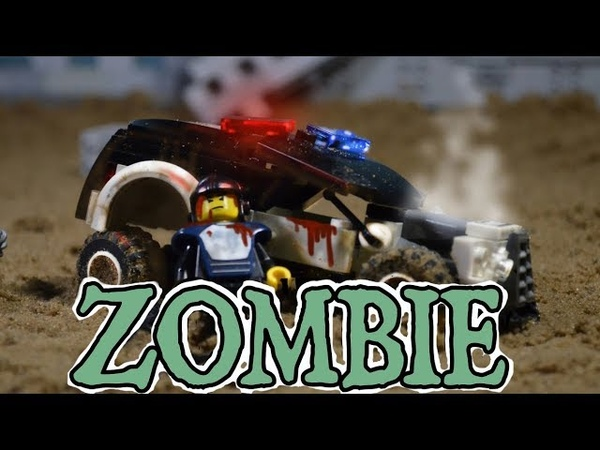 Zombie police stop motion