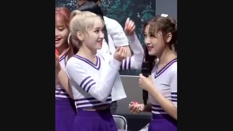 Gowon *carefully places 3 petals on choerry's head*  choerry *just piles them on gowon*