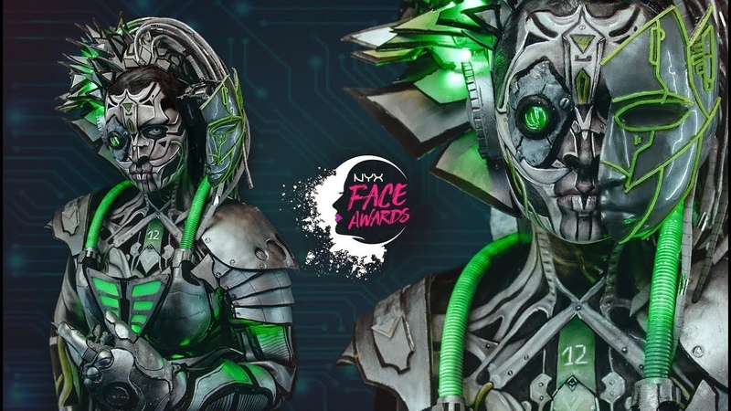 NYX FACE AWARDS RUSSIA 2018 • Artificial Intelligence S12 • TOP 15 • FACEAWARDSRUSSIA2018