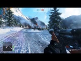 battlefield 5 alpha gameplay on gtx 1050 ti and i3 8100(grand operations 64man)