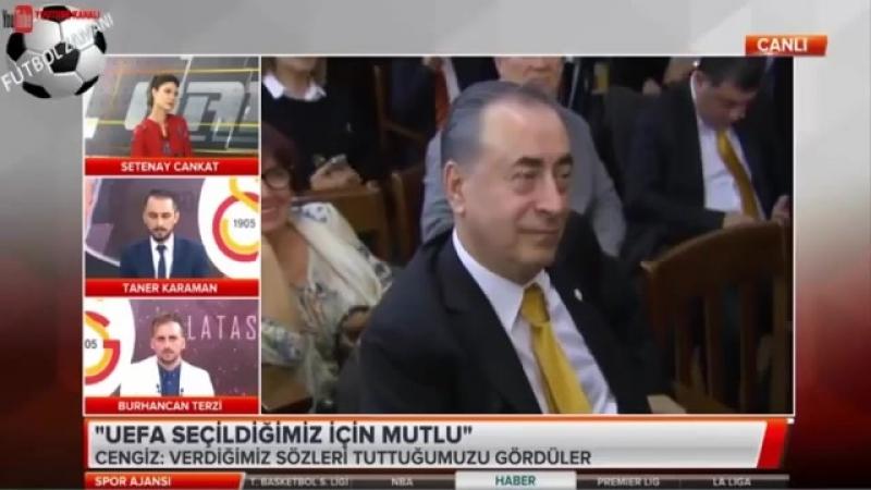 GALATASARAY Spor Ajansı - Mustafa Cengiz Zaferi Yorumları 27 Mayıs 2018