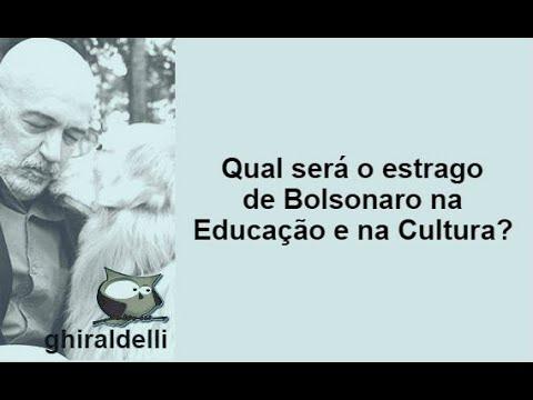 Qual será o estrago de Bolsonaro na educação e na cultura?