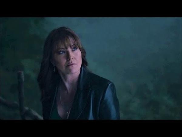 Lucy Lawless in Ash vs Evil Dead