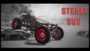 Besiege STEAM SUV ( steam powered 4x4 car ) Паровой внедорожник