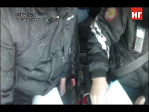 Водитель пытается дать взятку сотруднику полиции в Костанае