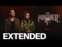 Ben Barnes, Amber Rose Revah Discuss Jigsaw Backlash | EXTENDED